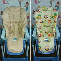 Двухсторонние чехлы на детские стульчики Peg Perego Tatamia