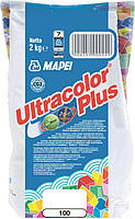 Фуга MAPEI Ultracolor Plus 100 2 кг белый