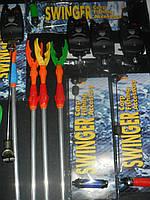 Набор сигнализаторов со свингерами на штанге и подставками barracuda4+4+4
