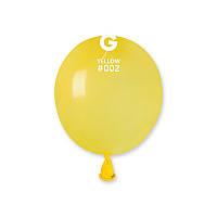 """Воздушные шарики пастель жёлтые 3"""" (8 см) латексные бомбочки"""