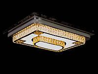 LED люстра со стразами Dh 6108/800+600