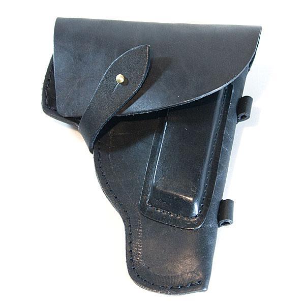 Кобура поясная кожаная для пистолета ПМ