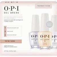 Комплексная программа для обновления ногтей OPI Nail Treatments Gel Break Too Tan-Tilizing Trio Pack