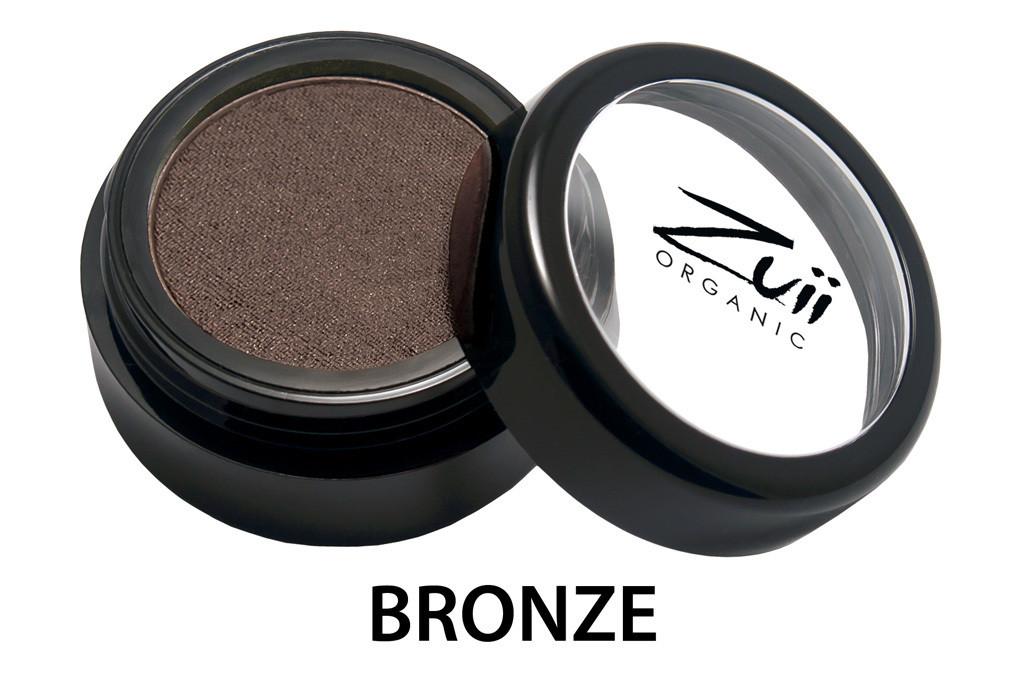 Тени органические для век  Bronze/ Бронза  1,5 г Zuii Organic