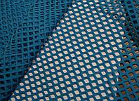 Стрейч-сетка ярко-голубой USA