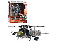 Трансформер Праймбот, робот(17см) - вертолет, в кор-ке, 27-22-10см ()