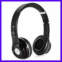 Наушники беспроводные Bluetooth S460 черные