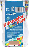 Фуга MAPEI Ultracolor Plus 141 2 кг карамель