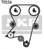 Комплект ГРМ (ремень и ролики)  CHEVROLET, Деу Опель (пр-во SKF VKMA05222)