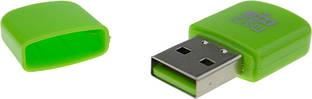 Картридер TOTO TKX-69 MicroSDHC Card Reader USB 2.0 Green
