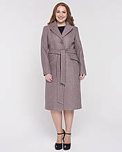 Женское пальто классика 46 - 58р капучино