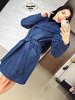 Молодежное женское пальто Глория, фото 1
