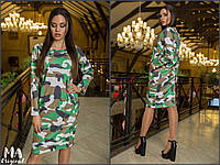 Платье / французский трикотаж / Украина, фото 1