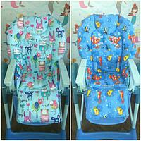 Двухсторонние чехлы на детские стульчики Chicco Polly