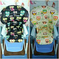 Двухсторонние чехлы на детские стульчики Chicco Polly Magic