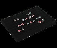Планшет 735020, премиум бархат для колец/серег, размер 35*24 см