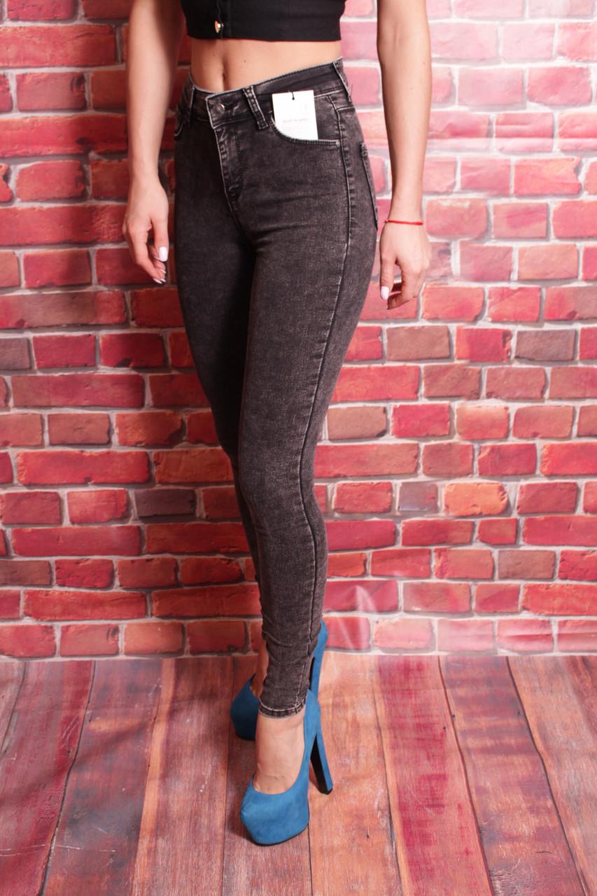 Женские джинсы c высокой талией Hepyek ( код 501-3665) 26-31разм