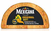 Сыр Чеддер Ilchester British Cheese Mexicana Original Hot с  халапеньйо, чили и острой паприкой, фото 1