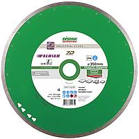 Круг алмазный Distar 1A1R Granite Premium 350 мм отрезной алмазный диск по граниту и керамограниту, Дистар