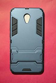 Ударопрочный чехол с подставкой Transformer for Meizu M5 Note Metal Slate (Gray) (серый)