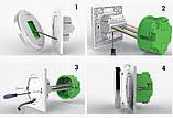 Сенсорний програмований терморегулятор Heat Plus BHT-5000 White, фото 4