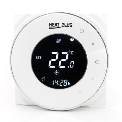 Сенсорный программируемый терморегулятор Heat Plus BHT-5000 White