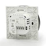 Сенсорний програмований терморегулятор Heat Plus BHT-5000 White, фото 2