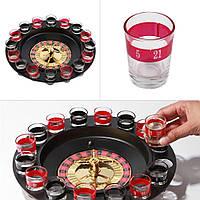 Алкогольная игра - Пьяная рулетка на 16 стопок i3-91