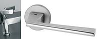 Дверная ручка VDS Spy хром-сатин