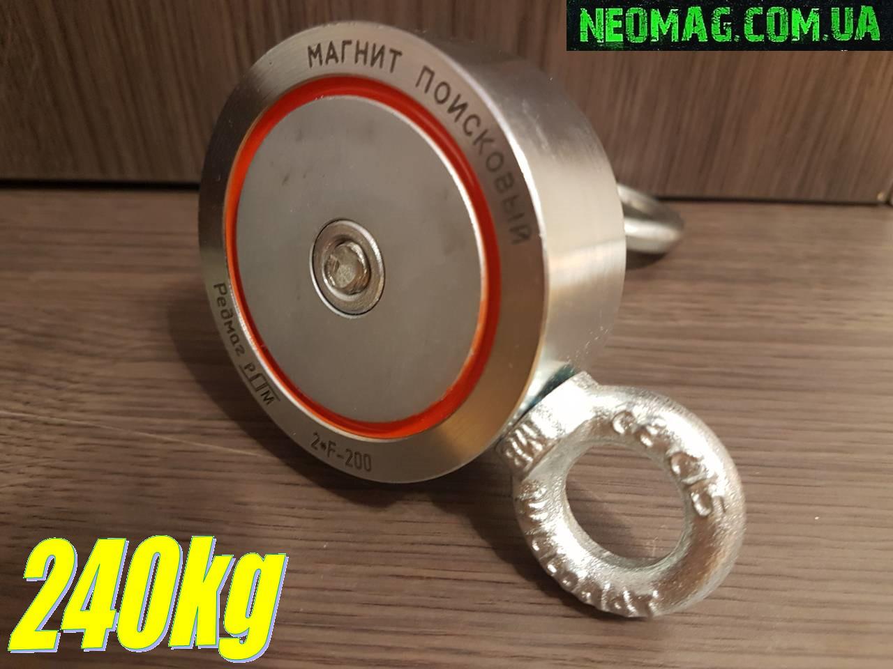 2e16012df0b Двухсторонний поисковый магнит РЕДМАГ F200 2