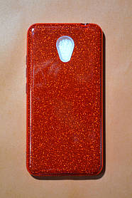 TPU + PC Силикон TWINS Gloss Series for Meizu M5c Red (красный)
