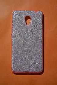 TPU + PC Силикон TWINS Gloss Series for Meizu M5c Pink (розовый)