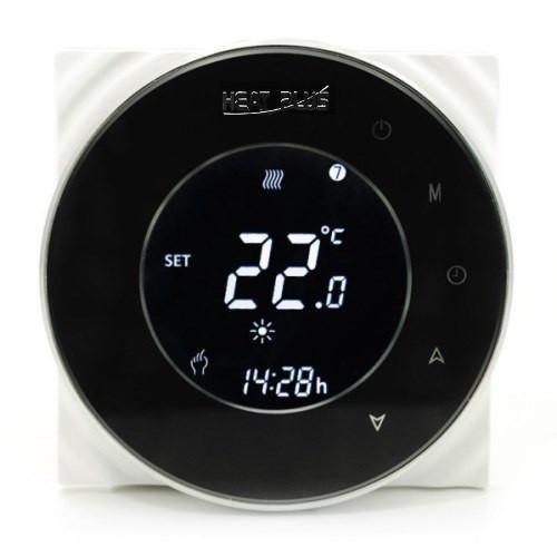 Сенсорный программируемый терморегулятор Heat Plus BHT-5000 Black