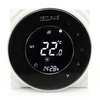 Сенсорный программируемый терморегулятор Heat Plus BHT-5000 Black, фото 1