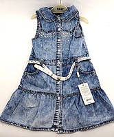 Сарафан джинсовый на девочку на 5, 6, 8 лет