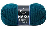NAKO Спорт Вул 100г/120м 2273 зеленка