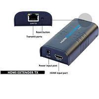 HDMI передатчик Extender TX Sender, сендер адаптер, удлинитель HDMI по витой паре до 120м