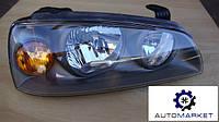Фара правая черная Hyundai Elantra 2004-2006 (XD), фото 1