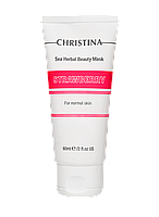 Клубничная маска красоты для нормальной кожи Christina, Кристина