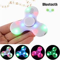ECUBEE LED Спиннер Bluetooth музыкальный ручной антистресс спиннер игрушки-антистресс Music LED Spinner Finger хорошо для сосредоточения внимания