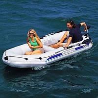 Надувная 2-х местная лодка BestWay Marine Pro-1 Raft Set 65044 (270х142x46см)