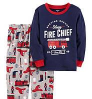 Флисовая пижама с пожарной машиной Carters для мальчика