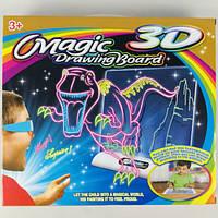 """Волшебная 3D доска для рисования """"Рисуем светом. Космос"""""""