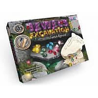 Набор для проведения раскопок Камни, JEWELS EXCAVATION, производство Украина JEX-01-02 ( ФР-00007576 )
