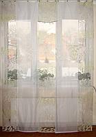 Панельные шторки Салатовая абстракция до пола, фото 1