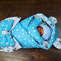 Конверт-плед + человечек для новорожденных , фото 1