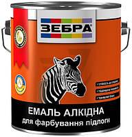 Эмаль алкидная для пола ПФ-266 Зебра 85 желто-коричневый глянец 2,8л