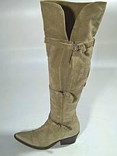 Сапоги женские ботфорты 38 размер бренд ERMANNO SCERVINO (ITALY), фото 2