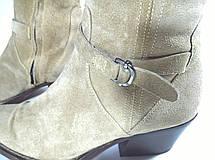Сапоги женские ботфорты 38 размер бренд ERMANNO SCERVINO (ITALY), фото 3