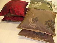Комплект подушек цветы двусторонние 2шт, фото 1